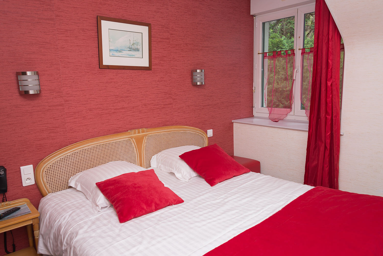 Chambre rouge2
